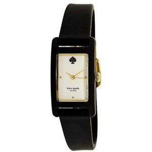 Kate Spade Blk White Duffy Square KSW1275 Watch.